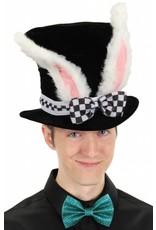 Elope White Rabbit Top Hat