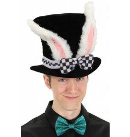Elope White Rabbit Top Hat