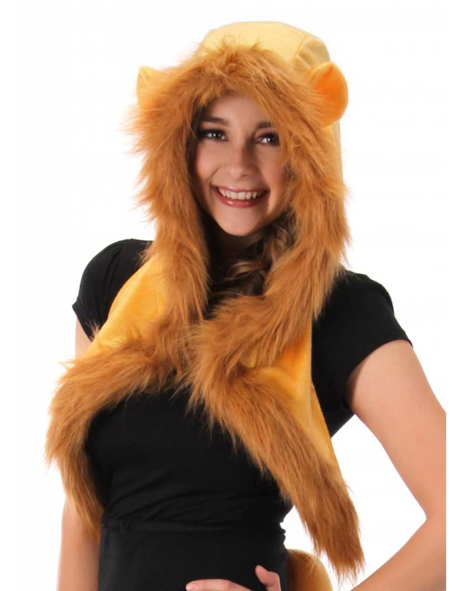 Elope Lion Plush Hood