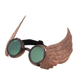 Elope Winged Goggles Gold