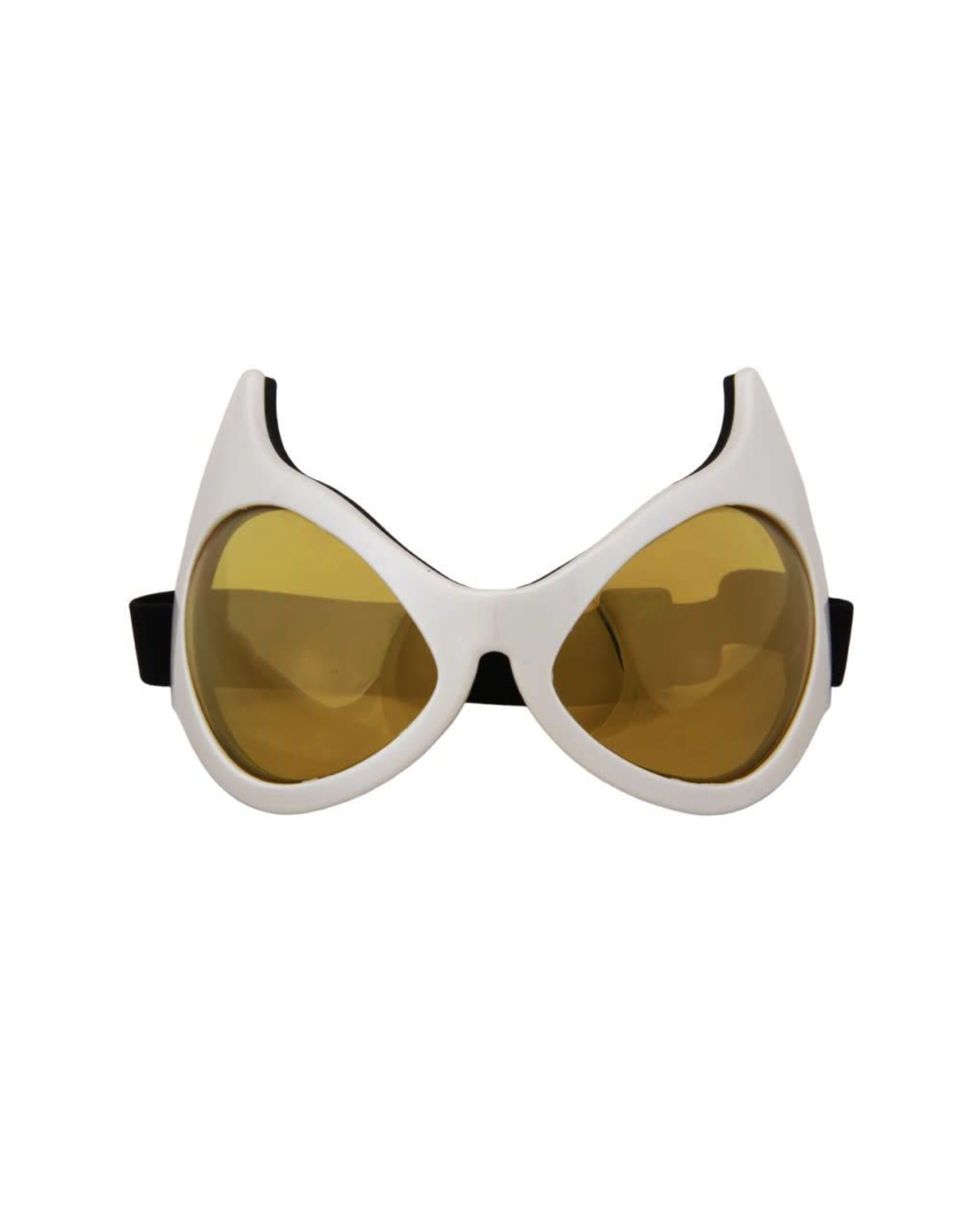Elope Cat Eye Goggles White