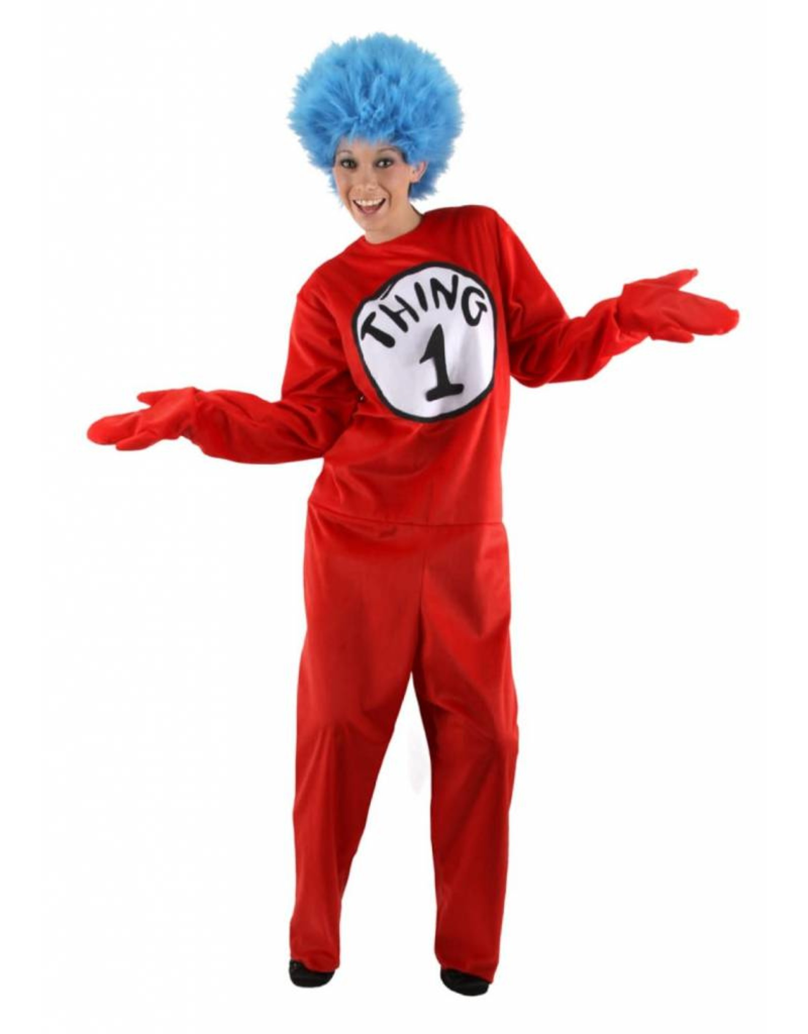 Elope Seuss Thing 1/2 Adult