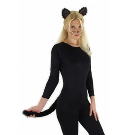 Elope Cat Ears & Tail Black