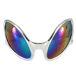 Elope Close Encounters Glasses Silver