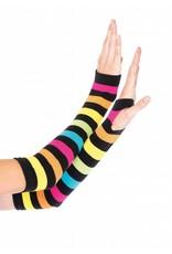 Leg Avenue Rainbow Gloves