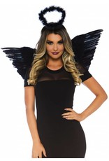 Leg Avenue Angel Kit Black