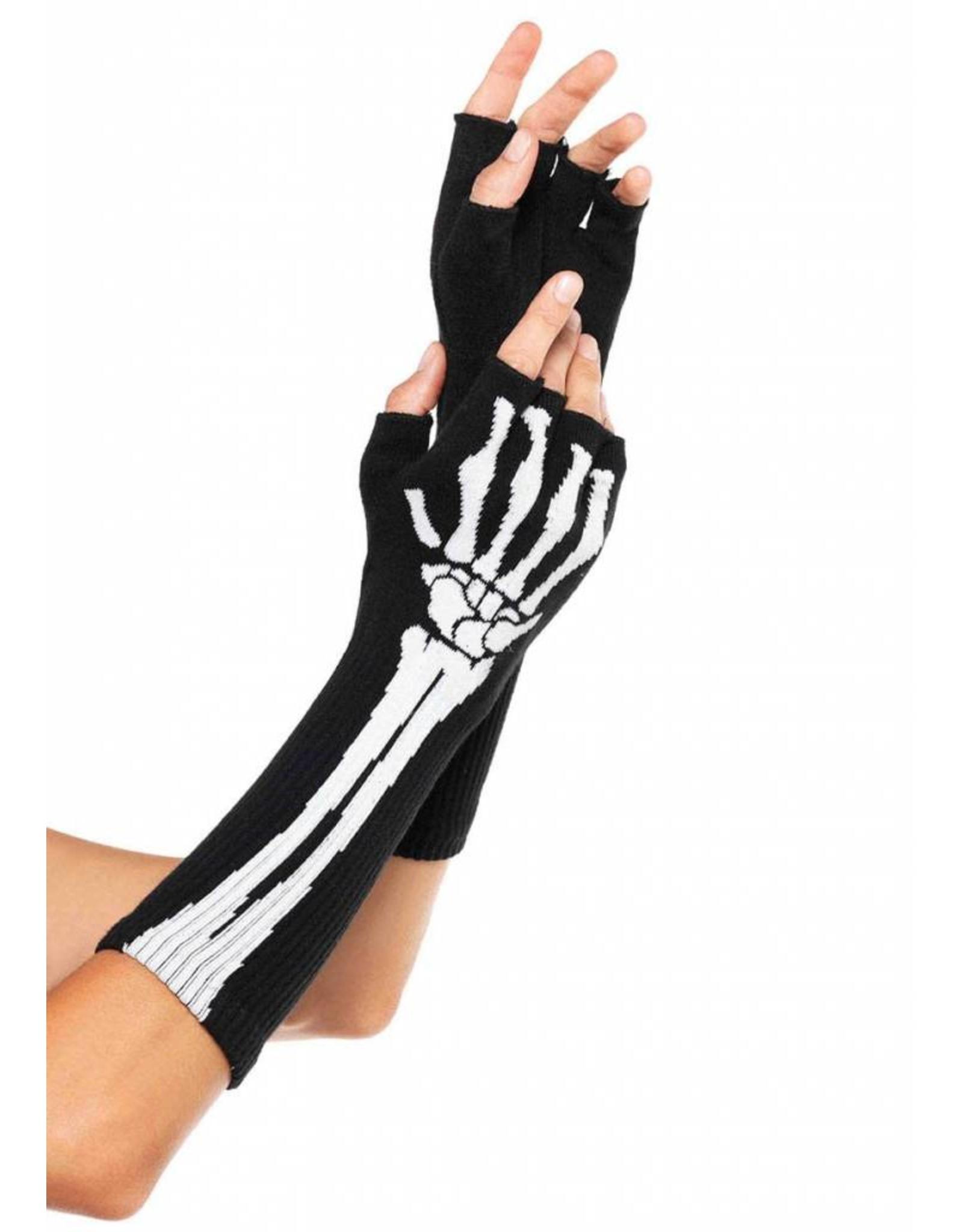 Leg Avenue Skeleton Gloves