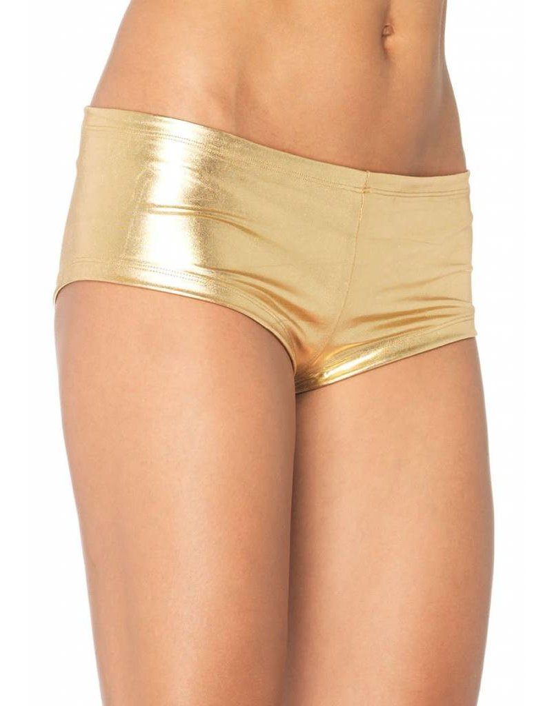 Leg Avenue Booty Shorts Gold M