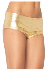 Leg Avenue Booty Shorts Gold S