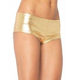 Leg Avenue Booty Shorts Gold S