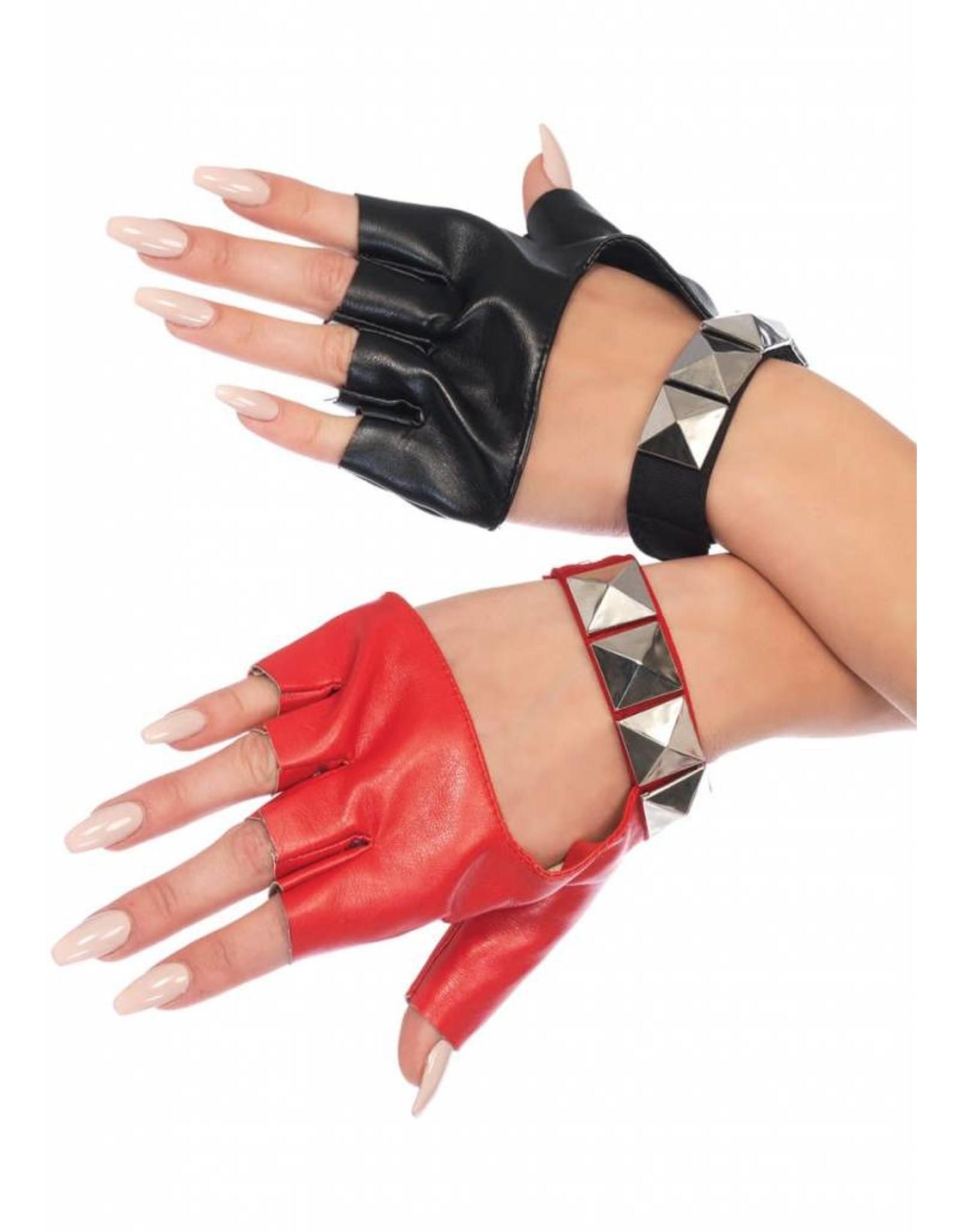 Leg Avenue Harley Studded Gloves