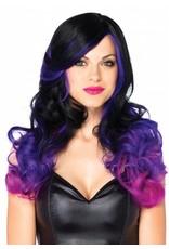 Leg Avenue Allure Wig Black/Purple