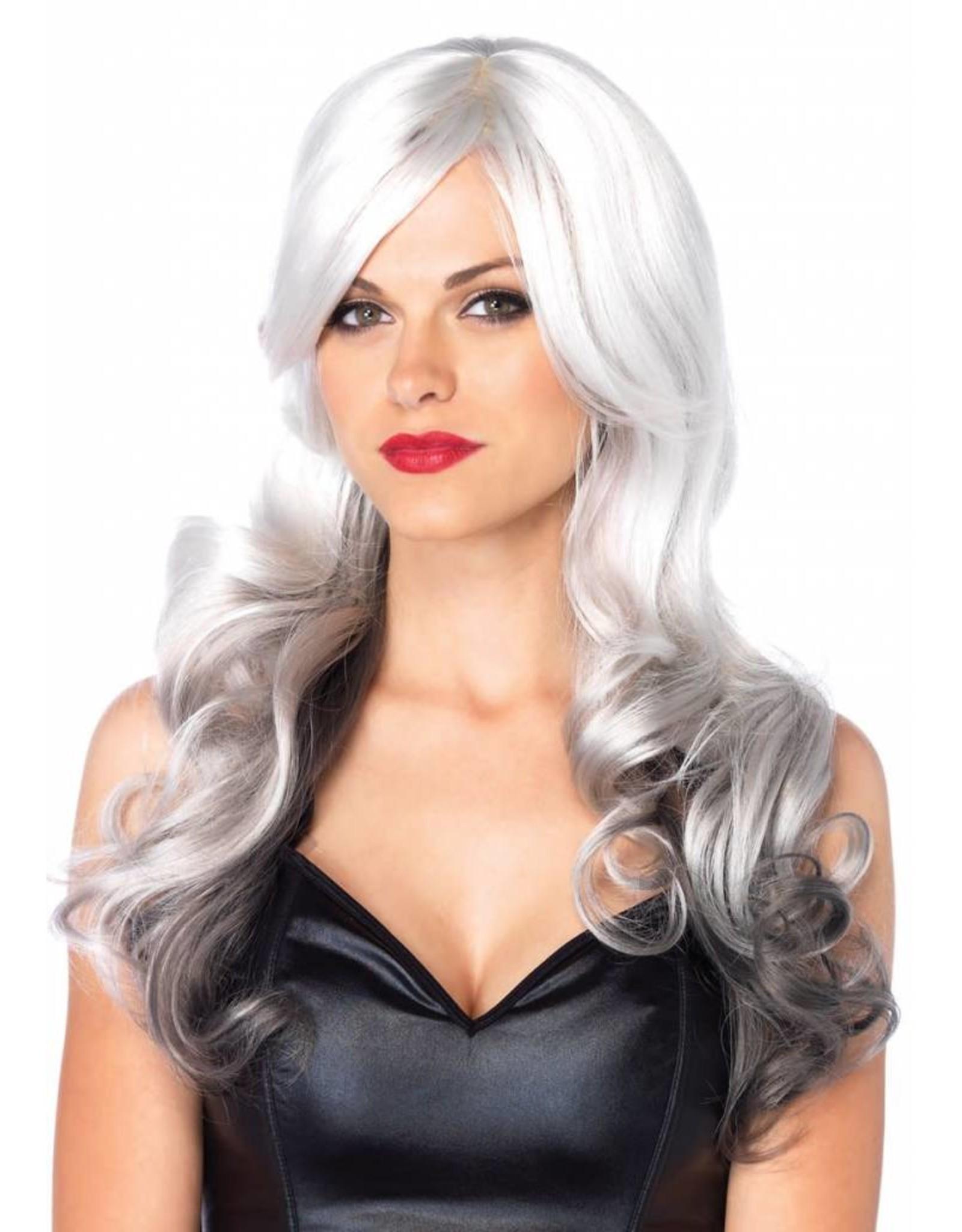 Leg Avenue Allure Wig Grey/Black