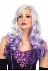 Leg Avenue Allure Wig Grey/Purple