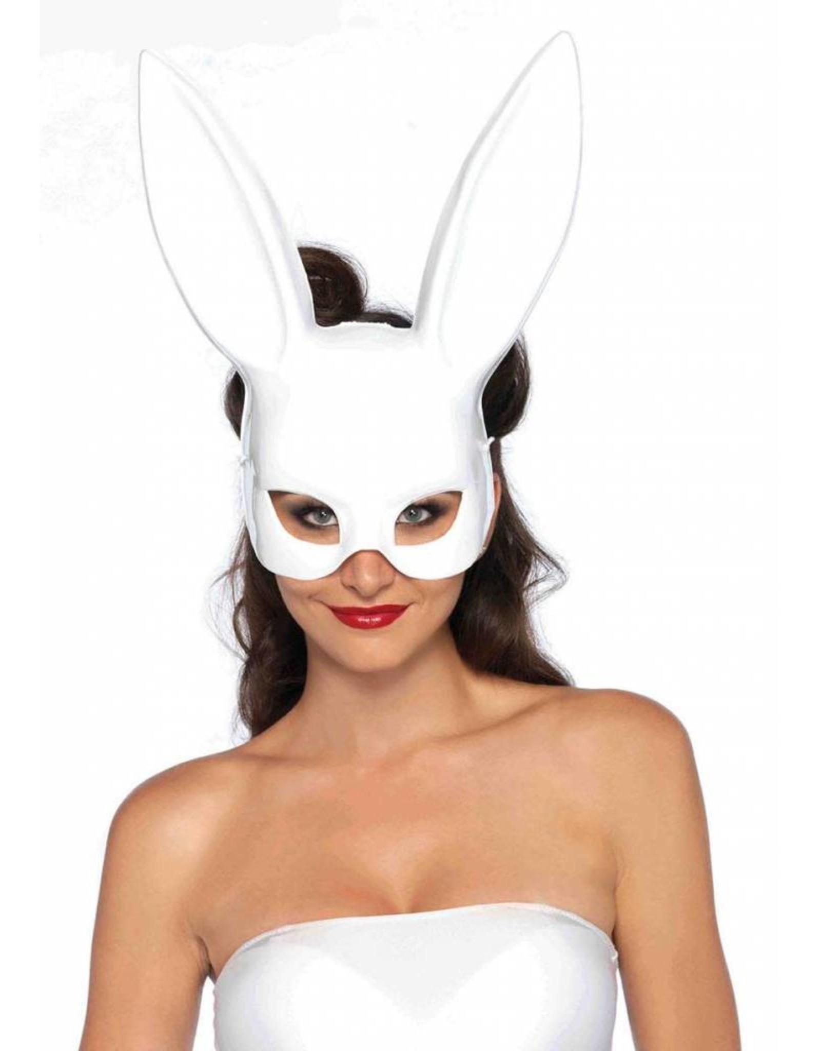 Leg Avenue Rabbit Mask White