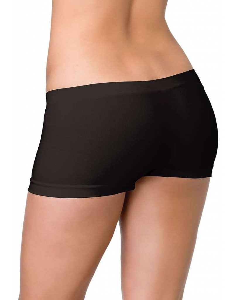 Leg Avenue Boyshorts Black OS