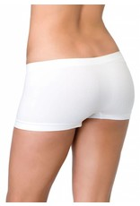 Leg Avenue Boyshorts White OS