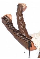 Leg Avenue Leather Arm Warmers S/M