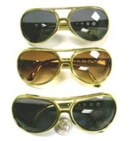 Flashback and Freedom Elvis Gold Glasses