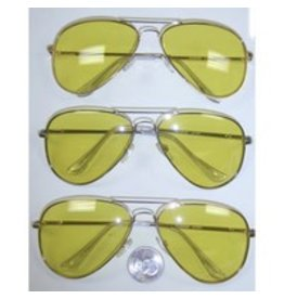 Flashback and Freedom Yellow Aviators