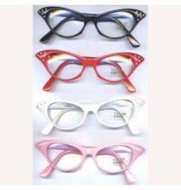 Flashback and Freedom 50's Rhinestone Glasses
