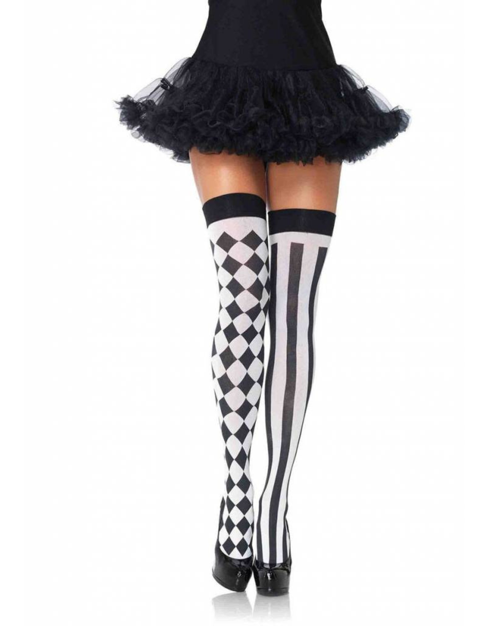 Leg Avenue Harlequin Thigh Highs
