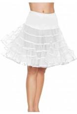 Leg Avenue Knee Length Petticoat White
