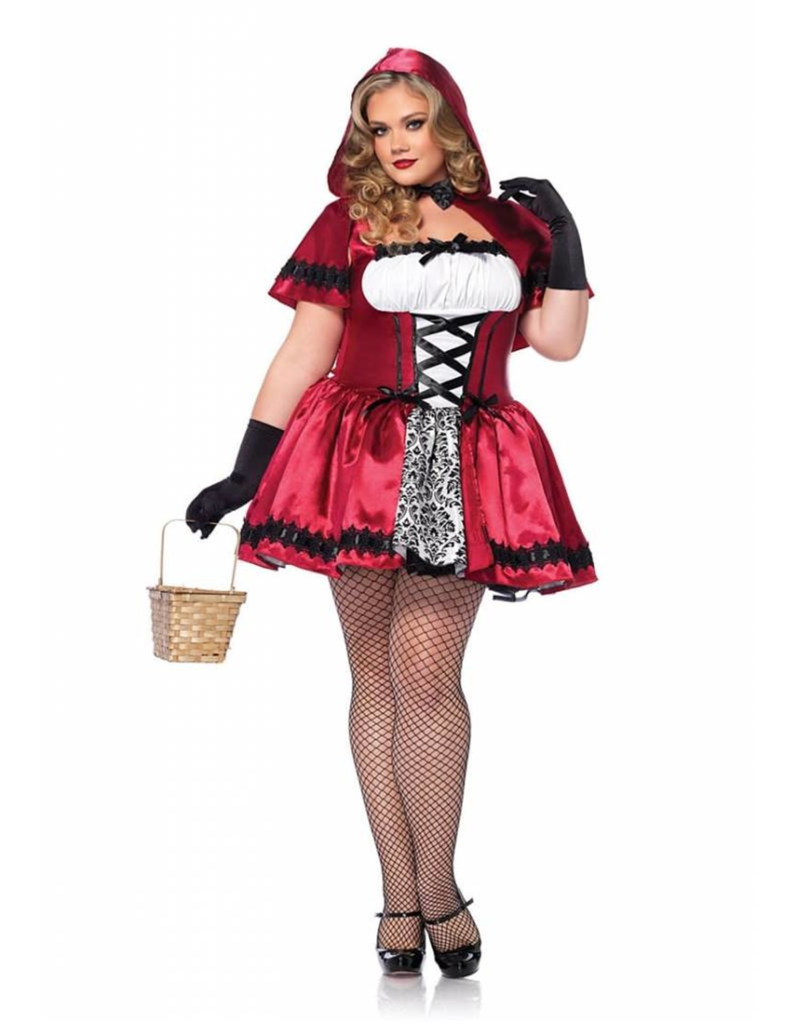 Leg Avenue Gothic Red Riding Hood 1X/2X