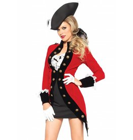 Leg Avenue Rebel Red Coat
