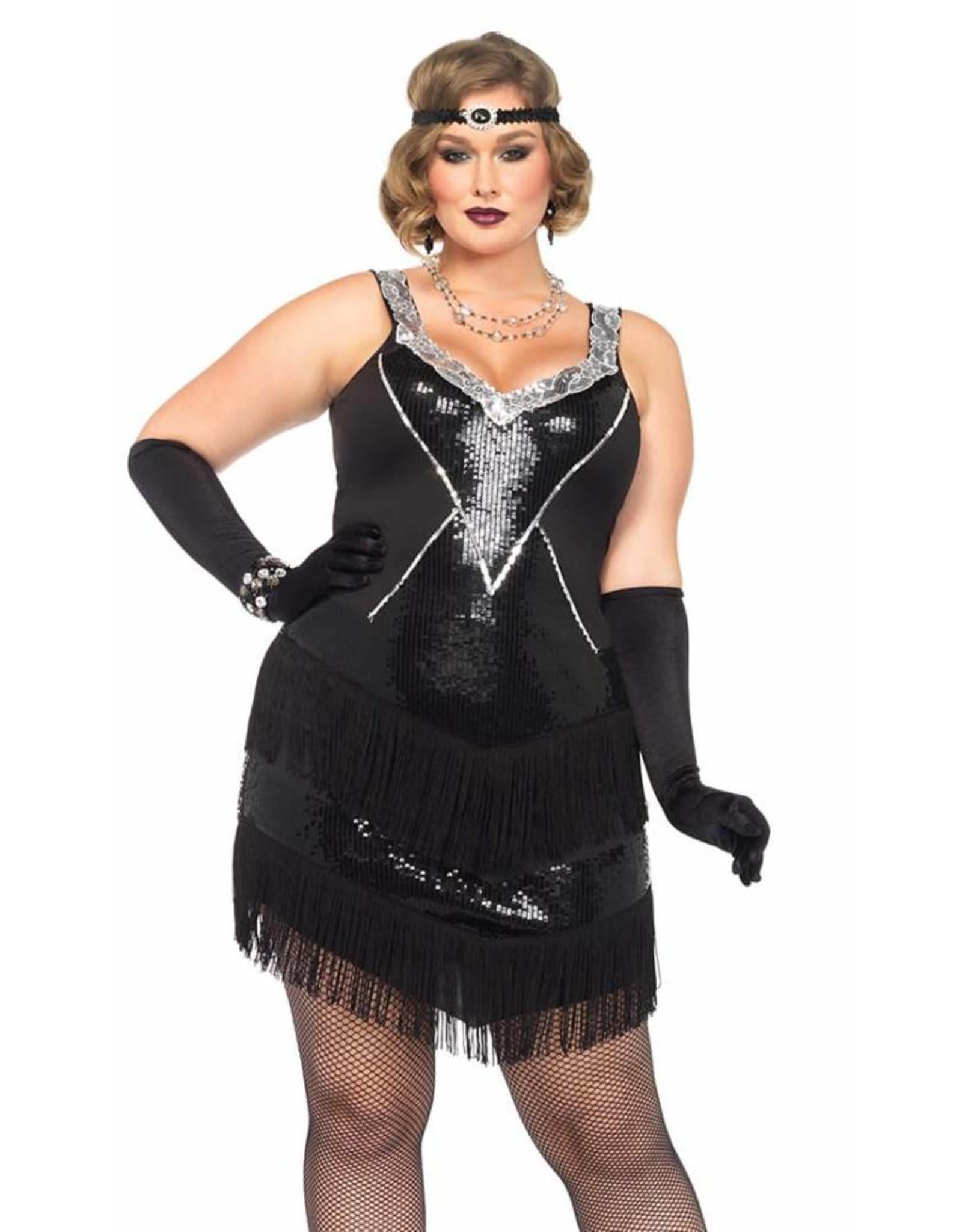 Leg Avenue Glamour Flapper 1X/2X
