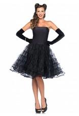 Leg Avenue Rockabilly Swing Dress Blk