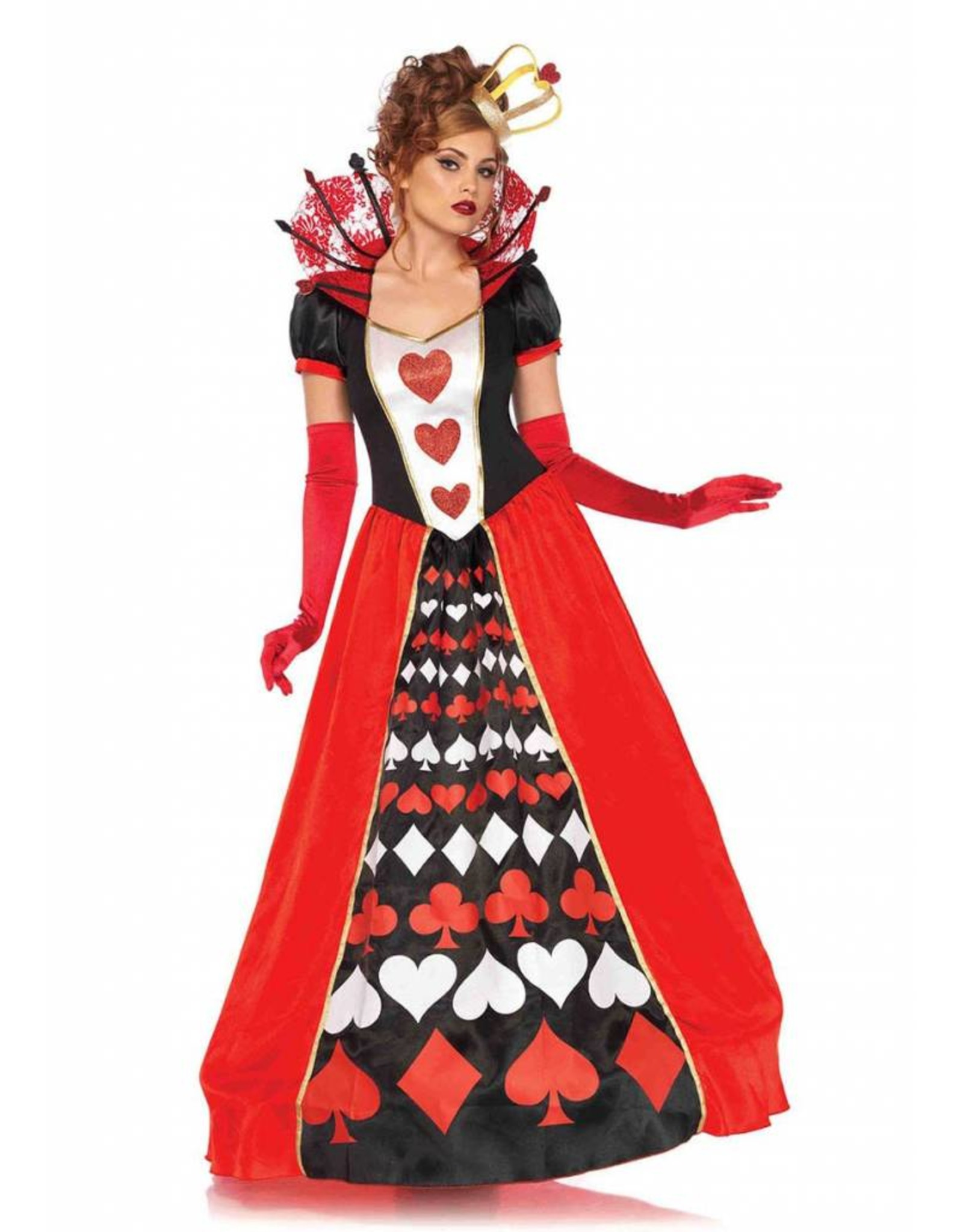 Leg Avenue Queen of Hearts DLX