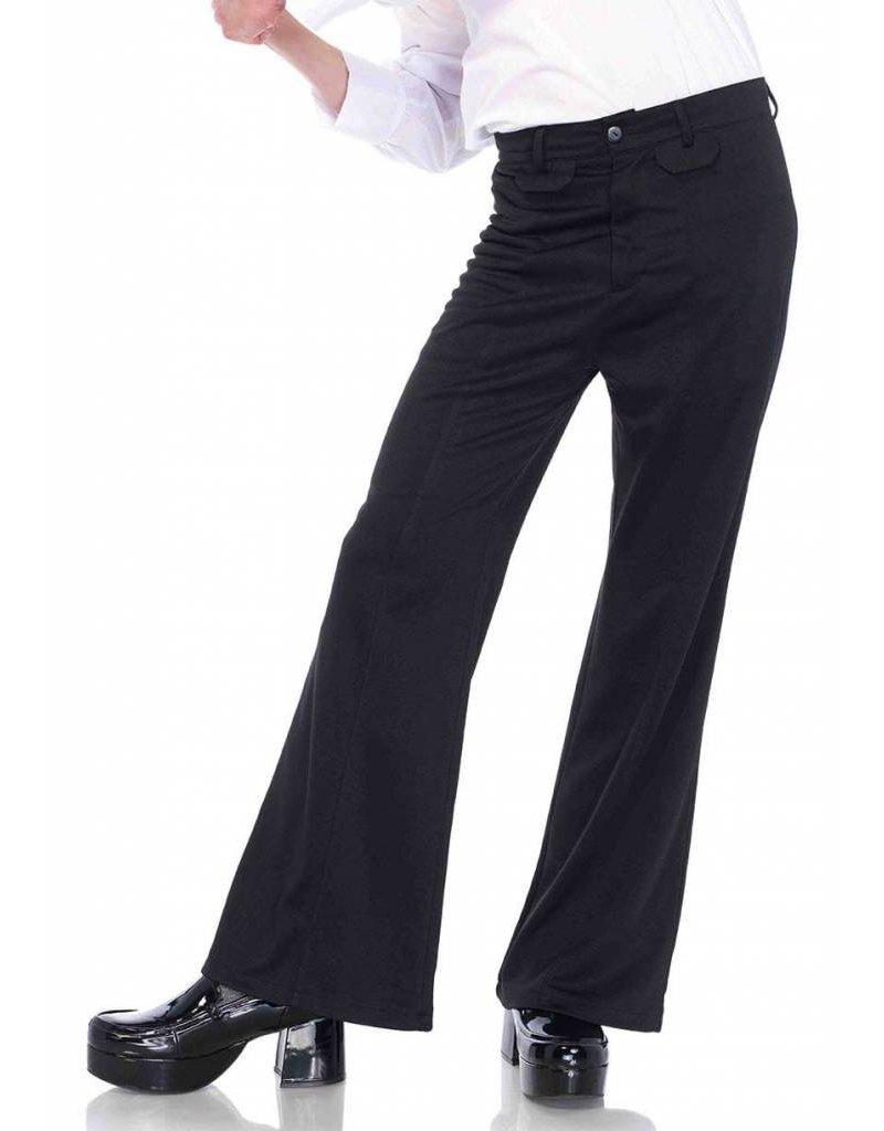 Leg Avenue Bell Bottom Pants Black