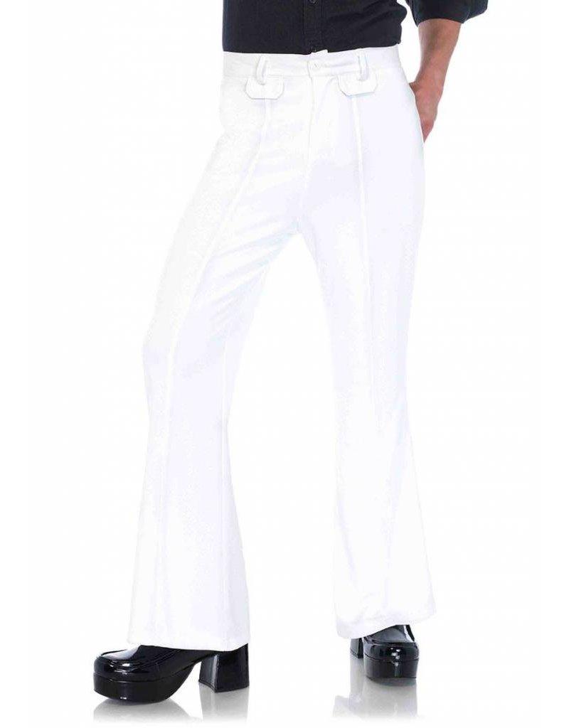 Leg Avenue Bell Bottom Pants White