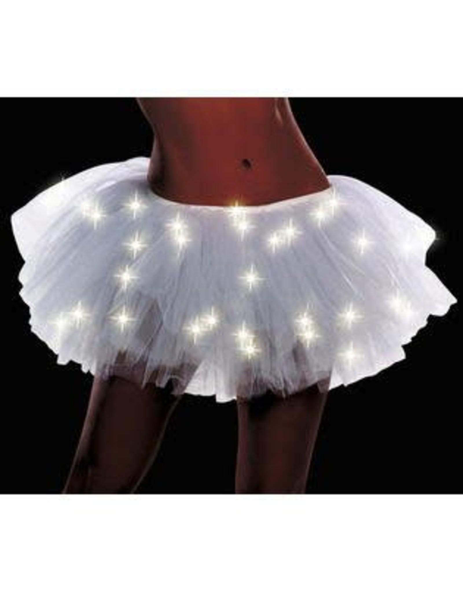 Dreamgirl Light Up Tutu White