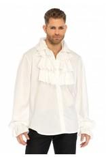 Leg Avenue Ruffle Front Shirt
