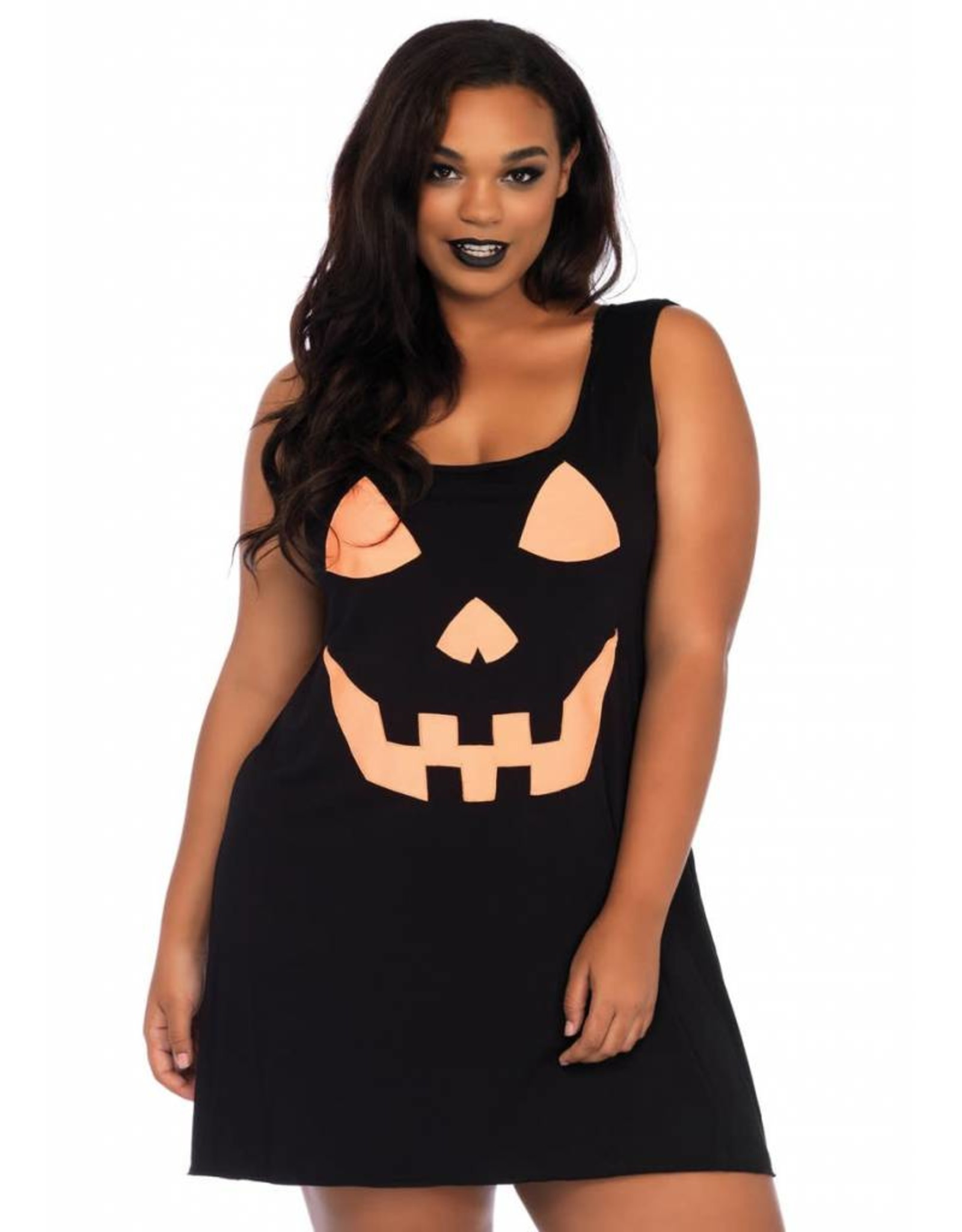 Leg Avenue Pumpkin Dress Plus 1X-2X