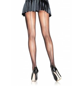 Leg Avenue Sheer Pantyhose Blk