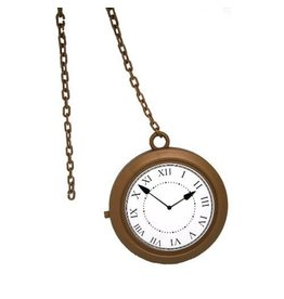 Forum Rappers Clock Necklace
