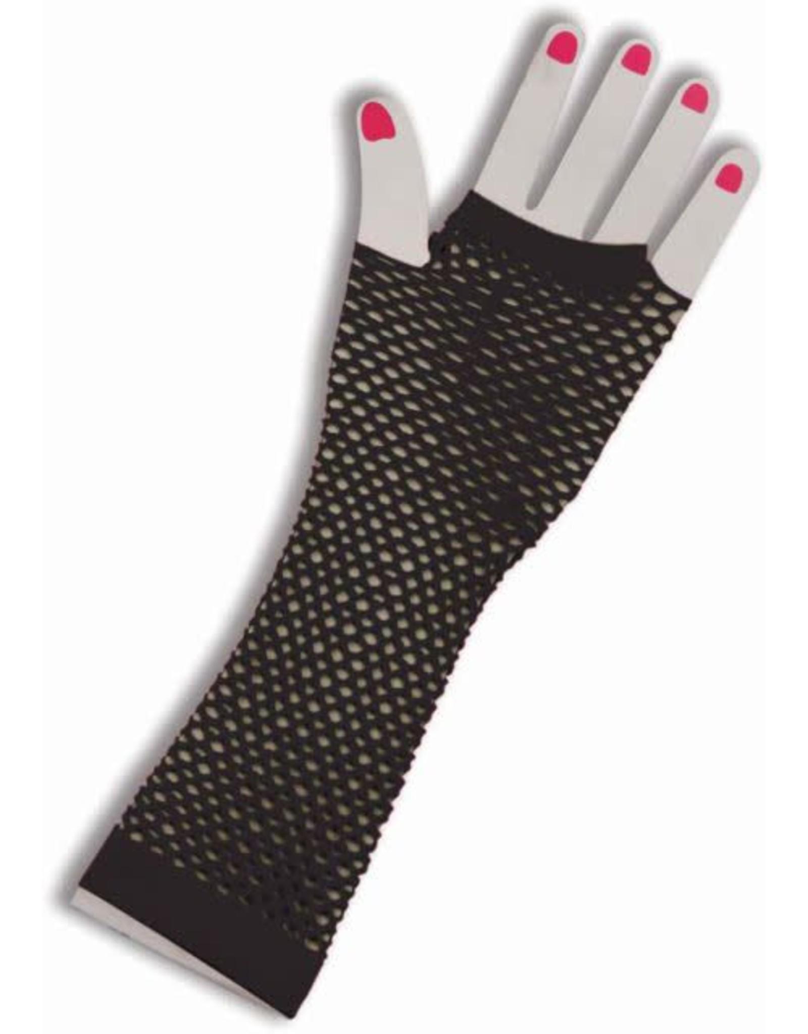 Forum Fishnet Gloves Black