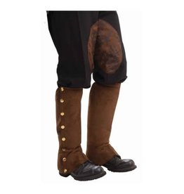 Forum Steampunk Spats Brown