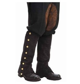 Forum Steampunk Spats Black