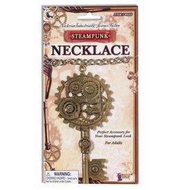 Forum Steampunk Gear Necklace