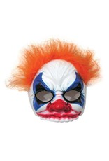 Forum Evil Clown Mask w/Hair