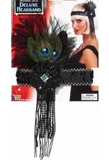 Forum Peacock Flapper Headband