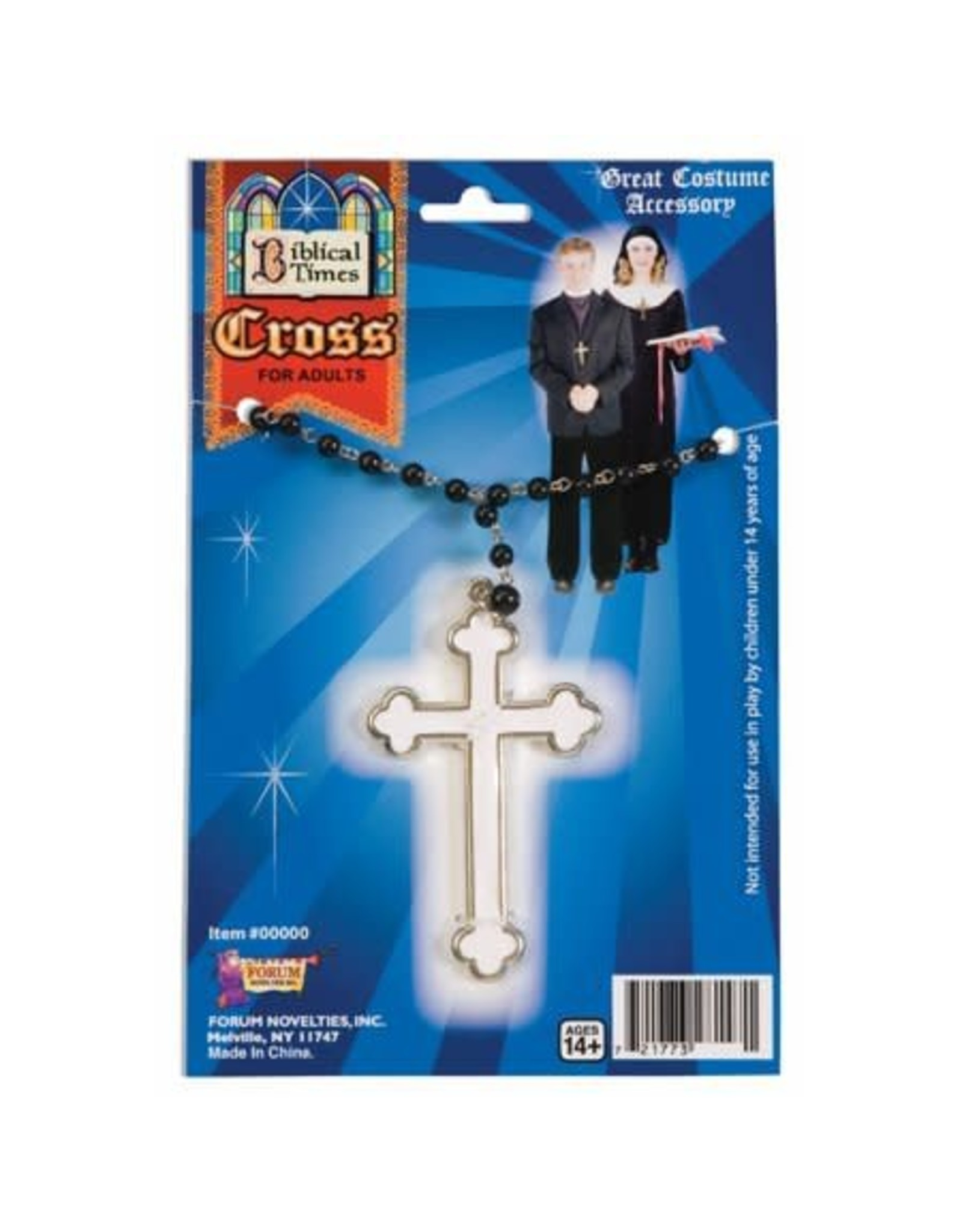 Forum Cross Necklace