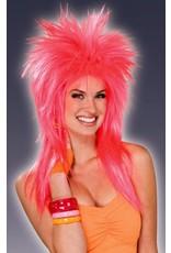 Forum 80's Pink Pizazz Wig