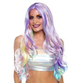 Leg Avenue Pastel Rainbow Wig
