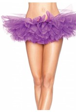 Leg Avenue Organza Tutu Purple