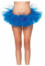 Leg Avenue Organza Tutu Royal Blue